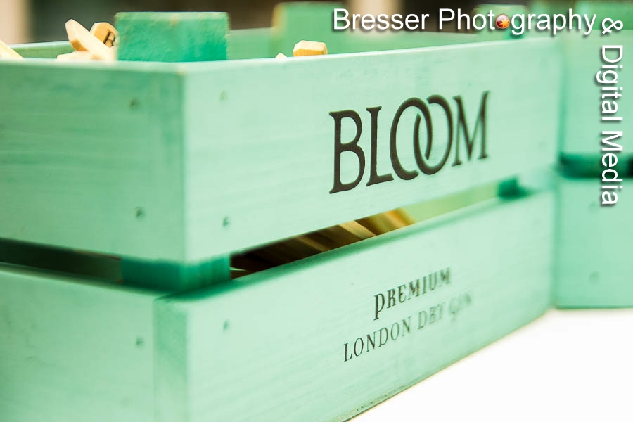 Presentation box with Bloom logo prominent