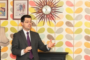 MP james Brokenshire speaking
