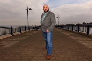 professional photographic portrait of local designer in Kent